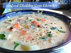 Craig Fear's famous Seafood Cheddar Corn Chowder
