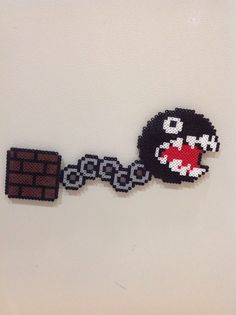 Chain chomp and block (Mario)