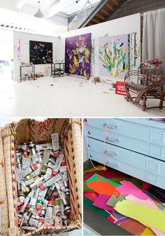 Une maison d'artiste - Kirra Jamison & Dane Lovett's Home (12)