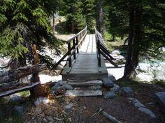 Walking bridge over Nigel Creek, Jasper National Park ~ DONE