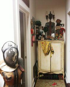 Artist/photographer Yelena Yemchuk's loft. Leslie Williamson photoshoot