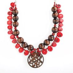 Create your own piece of paradise with this multi-strand necklace from our exclusive Bead Gallery® collection.