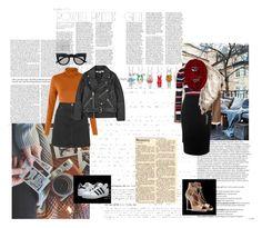 """#550"" by holyanna ❤ liked on Polyvore featuring Balmain, Acne Studios, Topshop, adidas Originals, McQ by Alexander McQueen, Aquazzura, Retrò, Alexander McQueen, women's clothing and women"