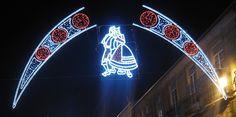 Iluminación Artística Galicia www. Neon Signs, Folklore, Pilgrim, Artists