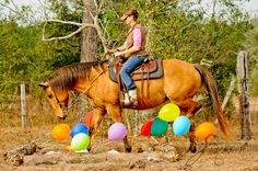 Balloon Obstacle...Photo by Smooch http://www.facebook.com/cowboymagic
