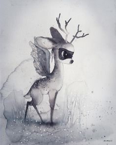 Mrs Mighetto 'The End of the Forest' Dear Fawn Print 40 x 50 – norsu interiors
