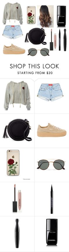 """""""14"""" by kfhfkkb on Polyvore featuring мода, Sans Souci, Urban Expressions, Puma, Ray-Ban, Burberry, Urban Decay, MAC Cosmetics и Chanel"""