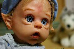 """Reborn Baby Doll 16"""" Ofelia by Olger Auer SOLE 656/1829"""