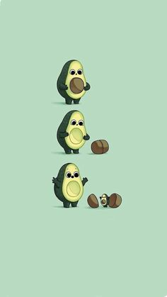 17 Fondos súper kawaii para decorar tu celular Wallpaper for kawaii style cell phone with an avocado that leaves a baby avocado Iphone Wallpaper Vsco, Cartoon Wallpaper Iphone, Disney Phone Wallpaper, Iphone Background Wallpaper, Cute Cartoon Wallpapers, Kawaii Wallpaper, Pretty Wallpapers, Aesthetic Iphone Wallpaper, Phone Wallpapers