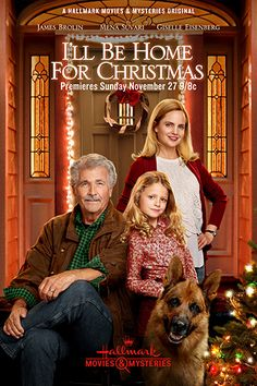 Its a Wonderful Movie - Your Guide to Family Movies on TV: 'I'll Be Home For Christmas' - a Hallmark Movies & Mysteries Original Christmas Movie!
