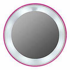 Tweezerman - Pink Perfection 15x Lighted Magnifying Mirror  sephora  Magnifying Mirror d03b1d25da4