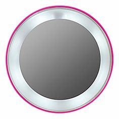 Tweezerman - Pink Perfection 15x Lighted Magnifying Mirror  #sephora