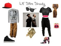 """""""Real Slim Shady"""" by agent-stark ❤ liked on Polyvore featuring Gotta Flurt, Topshop, Jeremy Scott, ASOS, NIKE, Muji, Delta Tribe, White Mountaineering and eminem dr.dre hip hop music"""