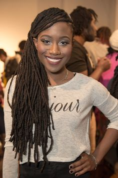 Individual braids or single braids are a cool, hip way to protect your natural hair. Check out our 40 ultra-chic individual braids styles and do's. Single Braids Styles, Braid Styles, Leda Muir, Dreadlock Hairstyles, Braided Hairstyles, Black Hairstyles, Beautiful Hairstyles, Wedding Hairstyles, Dreadlock Styles