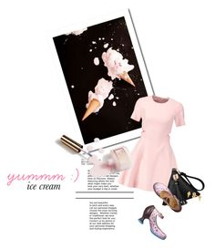 """""""yummm : )"""" by sharmarie ❤ liked on Polyvore featuring Elizabeth and James, John Fluevog, Ciaté and Lee Renee"""