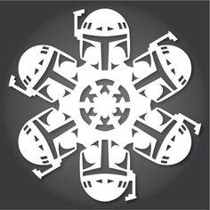 Bonus: Star Wars Snowflakes | Community Post: 12 DIY Decorations For A Geektastic Holiday