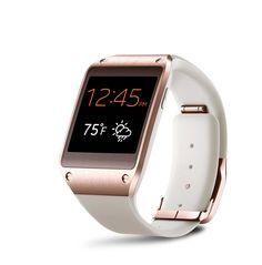 Gifts that glitter: Galaxy Gear watch (Wearable Tech Rose Gold)