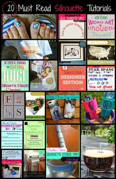 20 (Must Read) Silhouette Tutorials & Project Ideas You (June Month in Review)