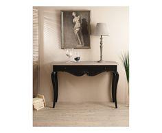 Console OLIVE, noir et naturel - L110 | Westwing Home & Living