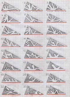 paper snowflakes - tutorial