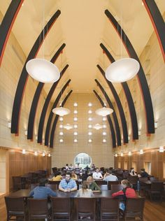 Joe Rosenfield '25 Campus Center, Grinnell College by Pelli Clarke Pelli Architects #Grinnell