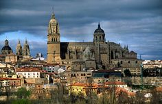 My third home- Salamanca, Spain (after Vestavia and Auburn, of course)  Someday I'll go back!