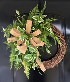 Spring Wreaths for Front Door Front Door Wreaths Summer