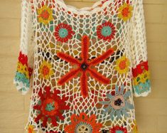 White Crochet Crop Top Long Sleeve Bolero Jacket