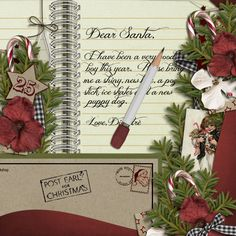 *Moments of Harmony - Full of Words Vol1        * Etc by Danyale - Wish List - Letter to Santa