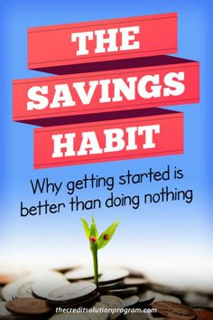 Developing a habit of savings is important for your finances. Learn how to make savings a habit here.