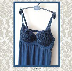 Camisola, colección Velvet Blue
