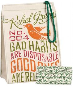 reusable lunch bag by Rebel Green