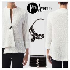 White jacket - perfect for work or party! http://premiereavenue-boutique.polyvore.com/ - http://www.1ereavenue.com/ #premiereavenue #StreetSyle @premiereavenue-boutique #JosephRibkoff #classy @polyvore @polyvore-editorial @premiereavenue-boutique Buy here http://www.1ereavenue.com/en/joseph+ribkoff+top+style+154425-p8612/