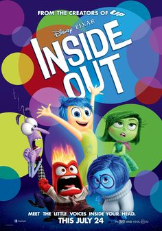Inside Out - coming July 24th