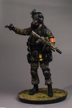Military Art, Military History, Action Toys, Action Figures, Diorama, Tactical Operator, Steampunk Weapons, War Dogs, Armor Concept
