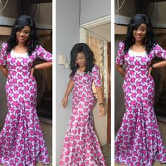 Hello ladies, here are some gorgeous ankara styles in various designs to inspire you. Ankara is very versatile and can definitely be combined with other lovely materials like silk, velvet… African Dresses For Women, African Attire, African Fashion Dresses, African Wear, African Women, Ghanaian Fashion, Ankara Fashion, African Beauty, African Skirt
