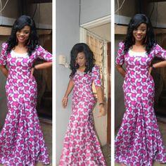 African Sweetheart: Style: ANKARA Season