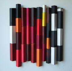 Ripples Love Lust/ Original Modern Art /  3D Wall by DecoBoxRo, $250.00