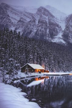 """folklifestyle: """" banshy: """"Winter Lake Louise by Nazmul Islam """" Use code """"tumblr"""" for 50% off your order at www.folklifestyle.com """""""