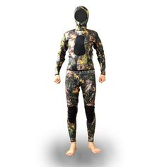 2016 Brand New 3mm Unisex Camouflage Neoprene Wet suit for Spearfishing Hunting Men Women WS-01-2