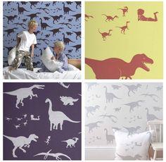 Dinosaur wallpaper!  #pinparty