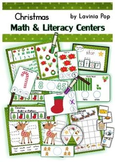 Math & Literacy Centers - Christmas {137 pages}.