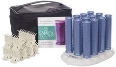 For Curling long hair. Finally a hot roller set that understands long hair. From Calista ($100)