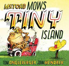 McToad Mows Tiny Island by Tom Angleberger http://www.amazon.com/dp/1419716506/ref=cm_sw_r_pi_dp_bKtkwb04YCAAF
