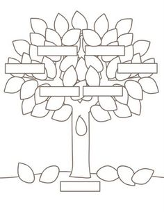 printable tree pattern plaids and prints family tree project