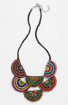 Panacea Two Tier Corded Rope Necklace available at #Nordstrom