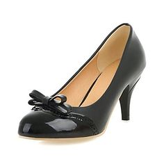 Women's Stiletto Heel Heels Pumps/Heels with Bowknot Shoes(More Colors) – USD $ 24.99