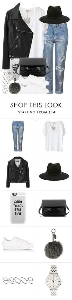 """""""Contest entry #PVStyleInsiderContest"""" by hellomissapple on Polyvore featuring moda, Topshop, American Vintage, Acne Studios, Forever 21, Casetify, Proenza Schouler, adidas Originals, Fendi y ASOS"""