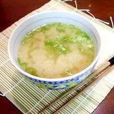 Sopa de miso e tofu @ allrecipes.com.br