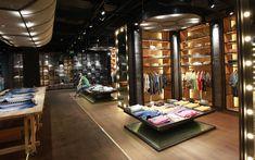 Retail Design | Shop Design | Fashion Store Interior Fashion Shops | Replay flagship store, Beijing store design